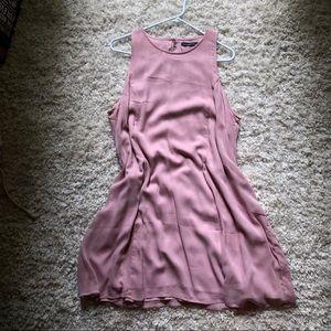 Abercrombie Blush Shift Dress Size XL